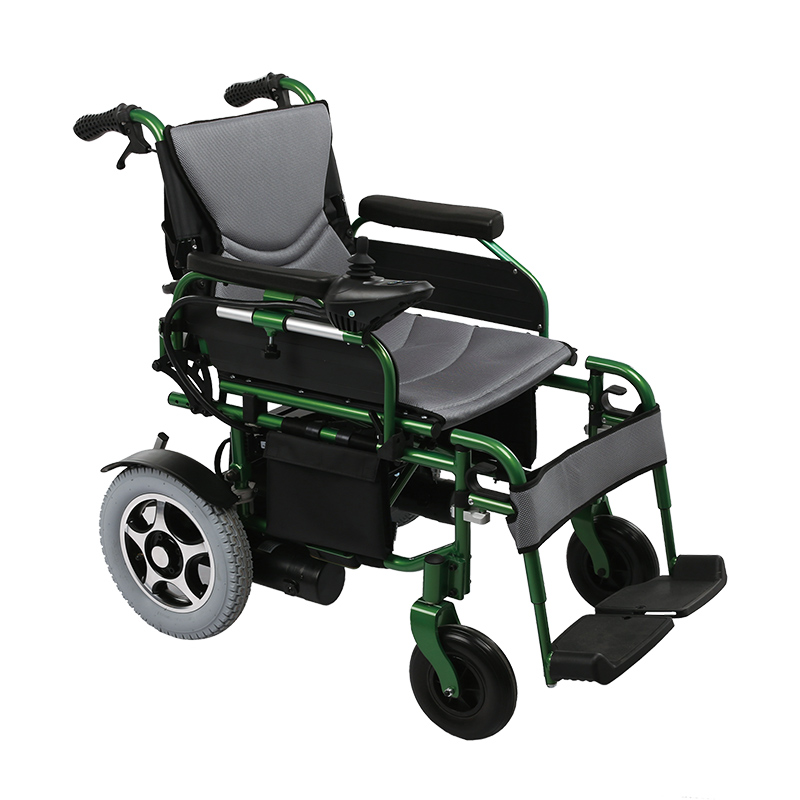 Outdoor Lightweight Adults Power Automatic Wheelchair