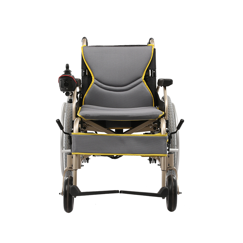 Foldable Electric Wheelchair with Easy Access to Airplane FC-P3