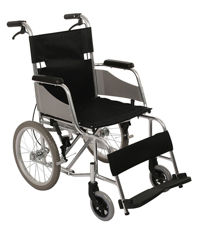 FC-M2 Hospital Steel Frame Foldable Manual Wheelchair For Adults
