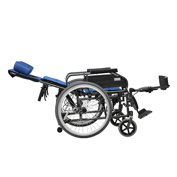 Manual Wheelchair with Power Assist for Hemiplegic Patients FC-M6
