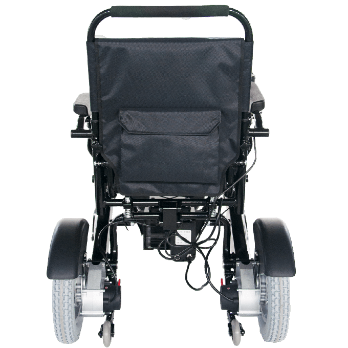 Electric Power Lightweight Folding Wheelchair with Joystick