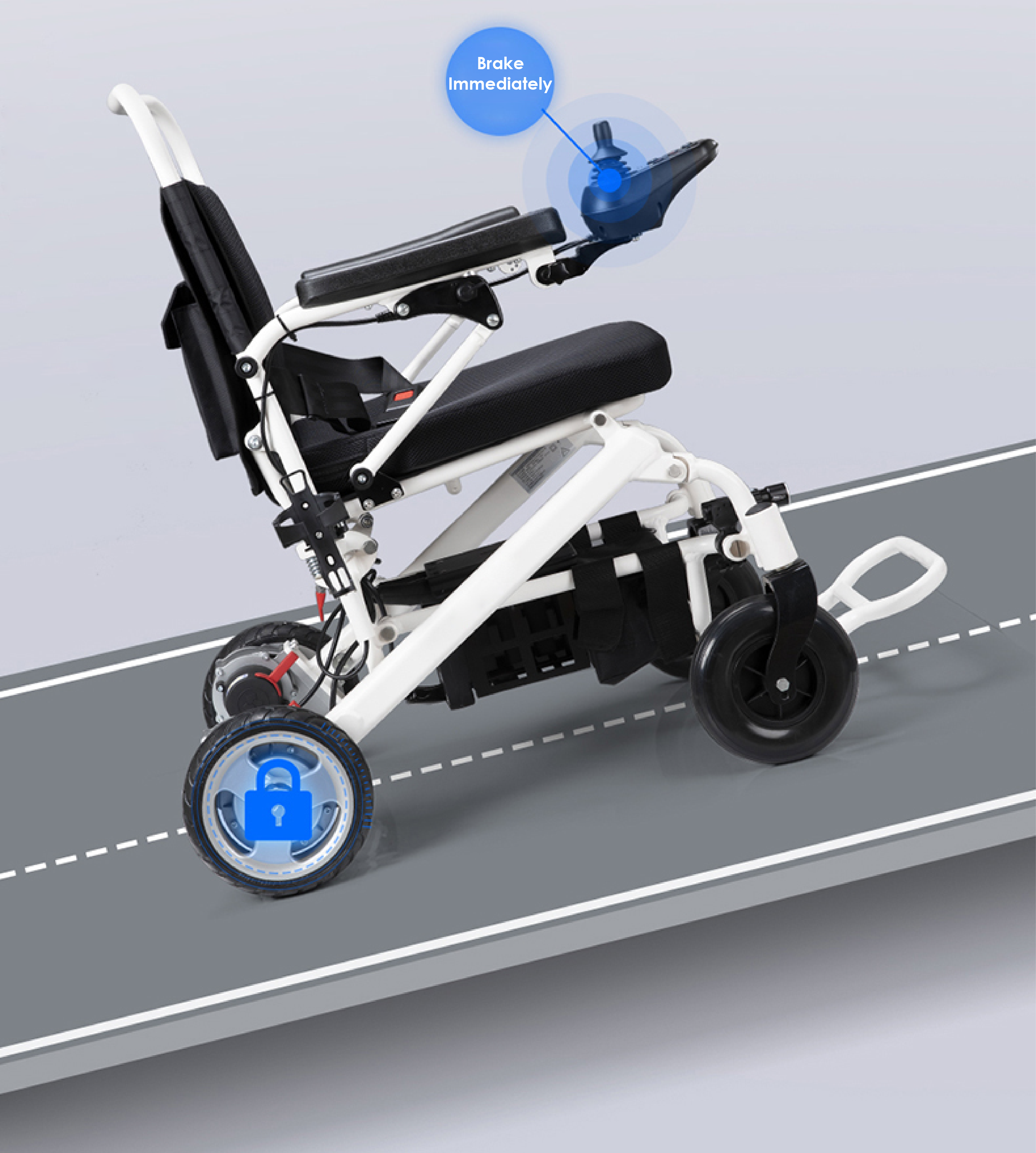 Why can't electric wheelchair speed be fast?