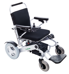 FC-P7 New Model Folding Electric Wheelchairs with Two Batteries